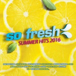 Album So Fresh - Summer Hits 2016 from Various Artists