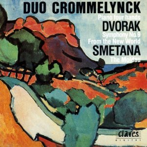 Album Original Works for Piano four Hands from Duo Crommelynck