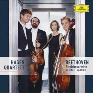 Hagen Quartett的專輯Beethoven: String Quartets Op. 18 No. 1 & Op. 59 No.1