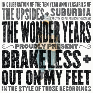 Album Out On My Feet / Brakeless from The Wonder Years