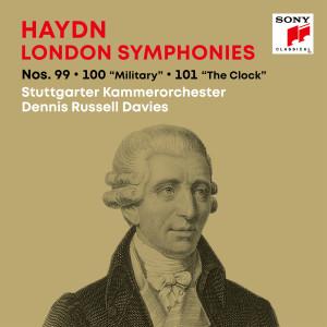 "Album Haydn: London Symphonies / Londoner Sinfonien Nos. 99, 100 ""Military"", 101 ""The Clock"" from Stuttgarter Kammerorchester"
