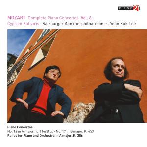 Album Mozart: Complete Piano Concertos, Vol. 6 (Live - K. 414 & 453) from Cyprien Katsaris