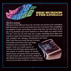 Album Winds of Change from Eric Burdon & The Animals