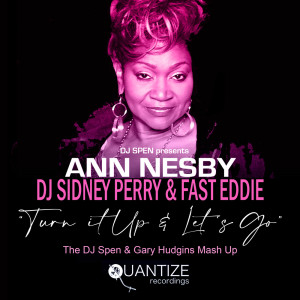 """Album """"Turn It Up"""" & """"Let's Go"""" from Ann Nesby"""