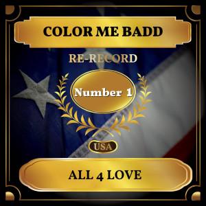 Color Me Badd的專輯All 4 Love (Billboard Hot 100 - No 1)