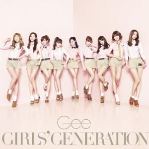 少女時代的專輯Gee