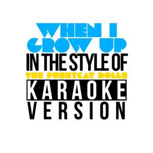 Karaoke - Ameritz的專輯When I Grow Up (In the Style of the Pussycat Dolls) [Karaoke Version] - Single