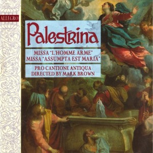 Album Palestrina: Missa L'Homme Arme from Michael George