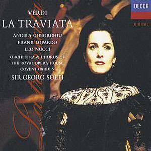 Album Verdi : La traviata from Covent Garden