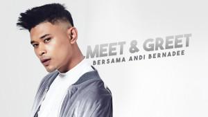 """Sertai peraduan """"Meet & Greet"""" bersama Andi Bernadee!"""
