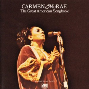 Listen to There's No Such Thing as Love (Live) song with lyrics from Carmen McRae