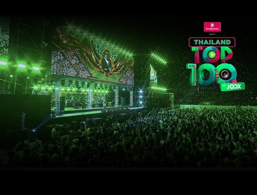 """""""ยังโอม"""" พา """"ธารารัตน์"""" คว้าอันดับ 1 เพลงฮิตแห่งปี ใน foodpanda Presents Thailand Top100 by JOOX 2019         สร้างปรากฏการณ์ความประทับใจให้กับศิลปินและแฟนเพลงกว่าหมื่นคน"""