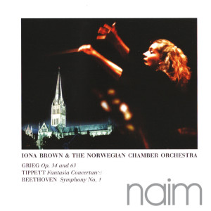 Iona Brown的專輯Grieg: Two Elegaic Melodies - Tippett: Fantasia Concertante - Beethoven: Symphony No.1 in C