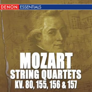 Album Mozart: Quartets 1 - 4 K. 80, 155, 156 & 157 from Mozarteum Quartet Salzburg
