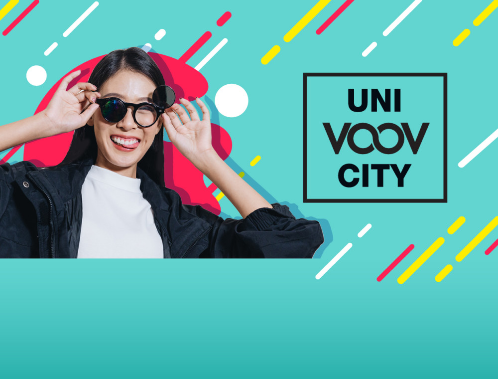 """ร่วมสนุกกับกิจกรรม """"Uni x VOOV x City"""" (ยูนิวูฟซิตี้ ) เพื่อชิงทุนการศึกษากว่า 1 แสนบาท!"""