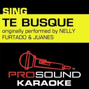 Album Te Busqué (Originally Performed by Nelly Furtado & Juanes) [Instrumental Version] from ProSound Karaoke Band