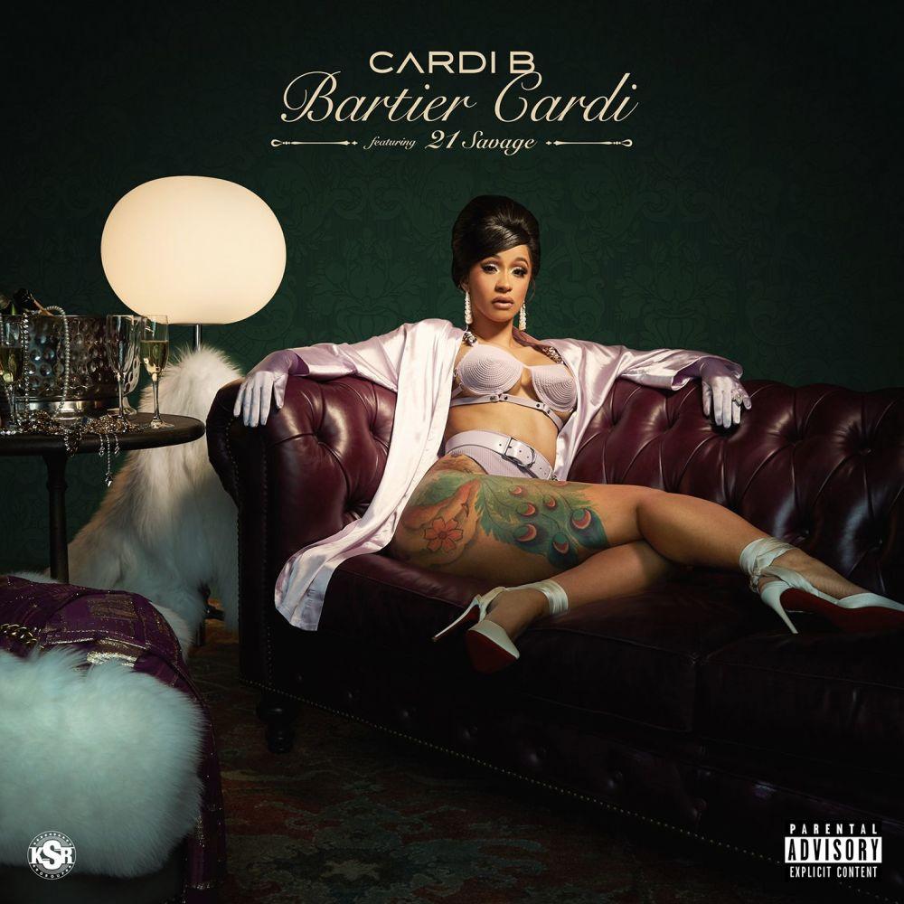 Bartier Cardi (feat. 21 Savage) 2017 Cardi B; 21 Savage