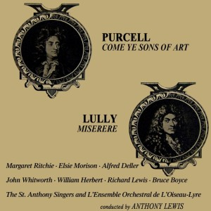 Bruce Boyce的專輯Purcell: Come Ye Sons of Art - Lully: Miserere