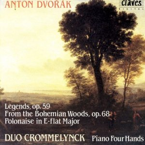 Album Dvořák: Complete Works for Piano 4 Hands, Vol. I  from Duo Crommelynck