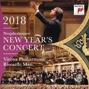 Riccardo Muti的專輯New Year's Concert 2018 / Neujahrskonzert 2018 / Concert du Nouvel An 2018