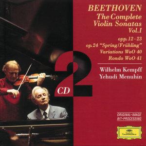 Yehudi Menuhin的專輯Beethoven: The Complete Violin Sonatas Vol.I