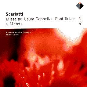 Album Scarlatti, Alessandro : Motets & Missa ad usum Cappellae Pontificiae from Michel Corboz