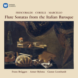 Album Flute Sonatas from the Italian Baroque from Gustav Leonhardt