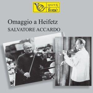 Album Omaggio a Heifetz from Salvatore Accardo