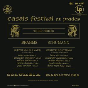 Brahms: Quintet No. 2 in G Major - Schumann: Quintet in E-Flat Major (Remastered)