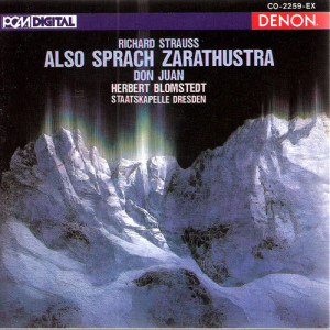 Album Strauss: Also Sprach Zarathustra, Op. 30 from Herbert Blomstedt