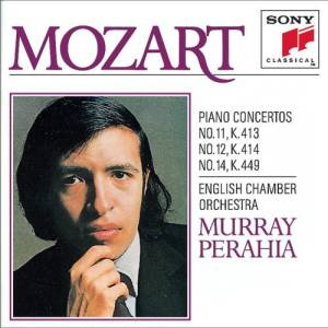 Murray Perahia的專輯Mozart: Piano Concertos Nos. 11, 12 & 14