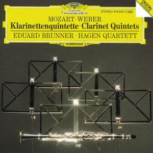 Hagen Quartett的專輯Mozart / Weber: Clarinet Quintets