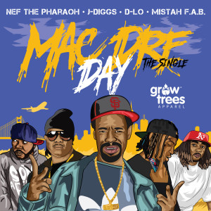 Album Mac Dre Day (feat. Nef the Pharaoh, J-Diggs, D-Lo & Mistah Fab) (Explicit) from Mac Dre