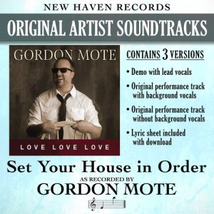 Album Set Your House in Order (Performance Tracks) - EP from Gordon Mote