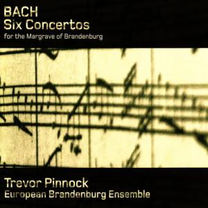 Album Bach: Six Concertos for the Margrave of Brandenburg from Trevor Pinnock