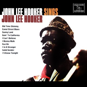 John Lee Hooker的專輯Sings John Lee Hooker