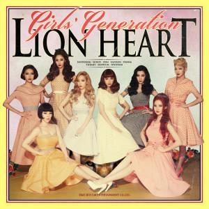 Lion Heart - The 5th Album dari Girls' Generation