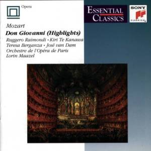 "Album Essential Classics: ""Don Giovanni"" Highlights from Kiri Te Kanawa"