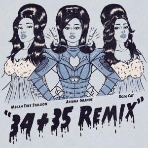 Ariana Grande的專輯34+35 (Remix)