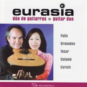 Album Falla / Tesar / Carulli / Granados / Colomé: Recital from Eurasia