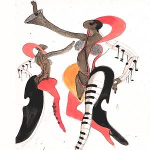 Album Nightlife Costume from Doris Day