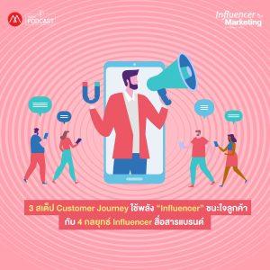 """อัลบัม EP.8 3 สเต็ป Customer Journey ใช้พลัง """"Influencer"""" ชนะใจลูกค้า กับ 4 กลยุทธ์ Influencer สื่อสารแบรนด์ ศิลปิน Influencer Marketing [Marketing Oops! Podcast]"""