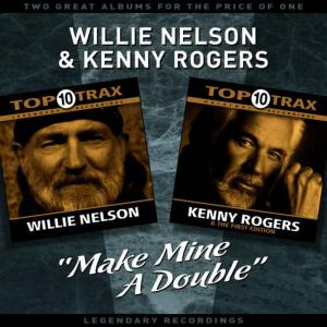 """Willie Nelson的專輯""""Make Mine A Double"""" - Two Great Albums For The Price Of One"""