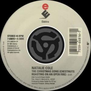 Natalie Cole的專輯The Christmas Song [Chestnuts Roasting On An Open Fire] / Nature Boy [Digital 45]