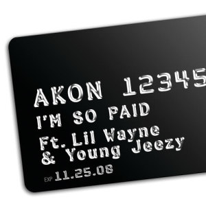 Akon的專輯I'm So Paid