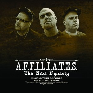 Listen to Tha West Is Back song with lyrics from Affiliates