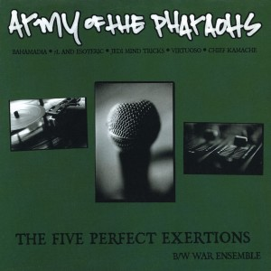 """Album The Five Perfect Exertions (12"""") from Army of The Pharaohs"""