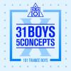 PRODUCE X 101 Album PRODUCE X 101 - 31 Boys 5 Concepts Mp3 Download