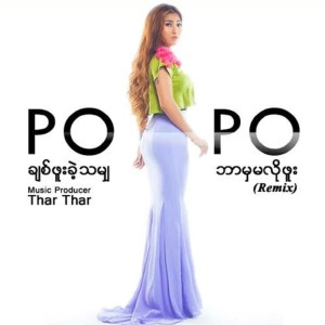 Listen to ချစ်ဖူးခဲ့သမျှ ဘာမှမလိုဘူး (Remix) song with lyrics from Po Po