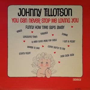 Johnny Tillotson的專輯You Can Never Stop Me Loving You